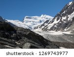 the corbassiere glacier is a...   Shutterstock . vector #1269743977