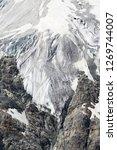 the corbassiere glacier is a...   Shutterstock . vector #1269744007