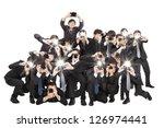 Many Photographers Holding...