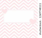 valentine day pink hearts... | Shutterstock .eps vector #1269748111