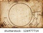 Musical Notes Frame