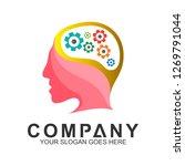 smart system  brain work ... | Shutterstock .eps vector #1269791044