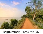 rural village road alongside...   Shutterstock . vector #1269796237