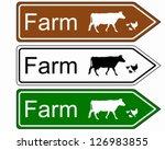 sign farm | Shutterstock .eps vector #126983855