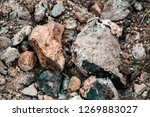 rough textured rocks | Shutterstock . vector #1269883027