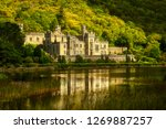 kylemore abbey in connemara ... | Shutterstock . vector #1269887257