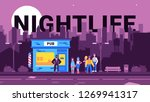 a colorful illustration which... | Shutterstock .eps vector #1269941317