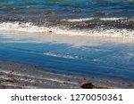 dark mineral ilmenite... | Shutterstock . vector #1270050361