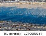dark mineral ilmenite... | Shutterstock . vector #1270050364