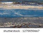 dark mineral ilmenite... | Shutterstock . vector #1270050667