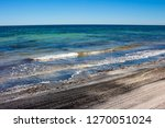 dark mineral ilmenite... | Shutterstock . vector #1270051024
