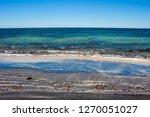dark mineral ilmenite... | Shutterstock . vector #1270051027