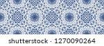 talavera pattern. azulejos... | Shutterstock .eps vector #1270090264