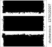set of grunge textures on white ... | Shutterstock .eps vector #1270120207
