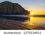 Rock In The Ocean  Morro Rock...