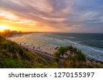 kirra hill sunset | Shutterstock . vector #1270155397