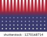 abstract flag of usa ...   Shutterstock . vector #1270168714