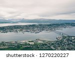 above view of tromso city in... | Shutterstock . vector #1270220227