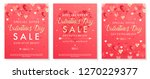 valentines day special offer... | Shutterstock .eps vector #1270229377