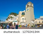capri  italy   april 23  2018 ... | Shutterstock . vector #1270241344