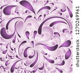 silk texture fluid shapes ... | Shutterstock .eps vector #1270269961