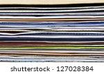 close up stack of envelope | Shutterstock . vector #127028384