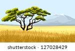 vector illustration african...   Shutterstock .eps vector #127028429
