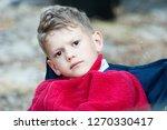 portrait of a pensive boy... | Shutterstock . vector #1270330417