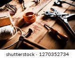 tools for processing products... | Shutterstock . vector #1270352734