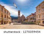 Main Square In Old Medieval...