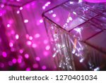 abstract purple pink and white... | Shutterstock . vector #1270401034