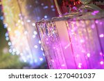 abstract purple pink and white... | Shutterstock . vector #1270401037
