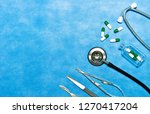 medical instruments for... | Shutterstock . vector #1270417204