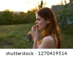 the concept of healthy...   Shutterstock . vector #1270419514