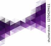purple grid mosaic background ... | Shutterstock .eps vector #1270429411