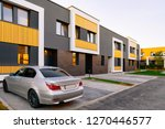 apartment townhouse residential ... | Shutterstock . vector #1270446577