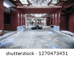 hotel lobby interior with... | Shutterstock . vector #1270473451