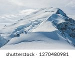 westface of mont blanc with... | Shutterstock . vector #1270480981
