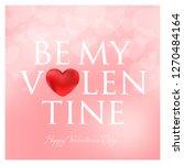 valentines day vector... | Shutterstock .eps vector #1270484164
