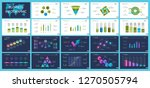 set of analysis or management... | Shutterstock .eps vector #1270505794