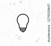 lightbulb icon  vector best...   Shutterstock .eps vector #1270520647