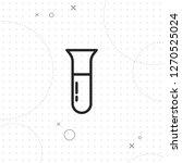 medical test tubes icon  vector ...   Shutterstock .eps vector #1270525024