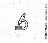 microscope vector icon  vector...   Shutterstock .eps vector #1270527511