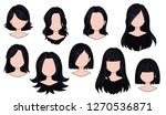 beautiful hairstyle woman... | Shutterstock .eps vector #1270536871