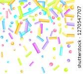 sprinkles grainy. sweet...   Shutterstock .eps vector #1270547707