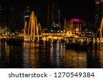 the dubai fountain   december... | Shutterstock . vector #1270549384