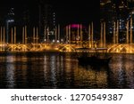 the dubai fountain   december... | Shutterstock . vector #1270549387