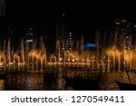 the dubai fountain   december... | Shutterstock . vector #1270549411