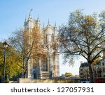 Westminster Abbey On Bright...