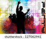 concert poster. vector... | Shutterstock .eps vector #127062941